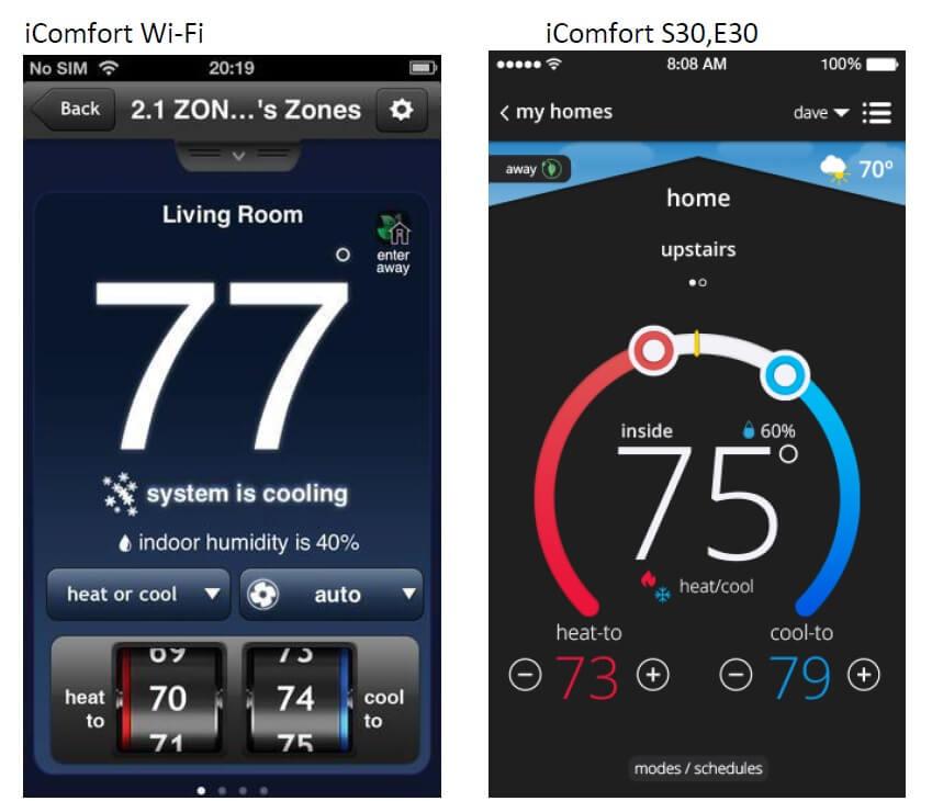 on icomfort lennox thermostat wiring diagram